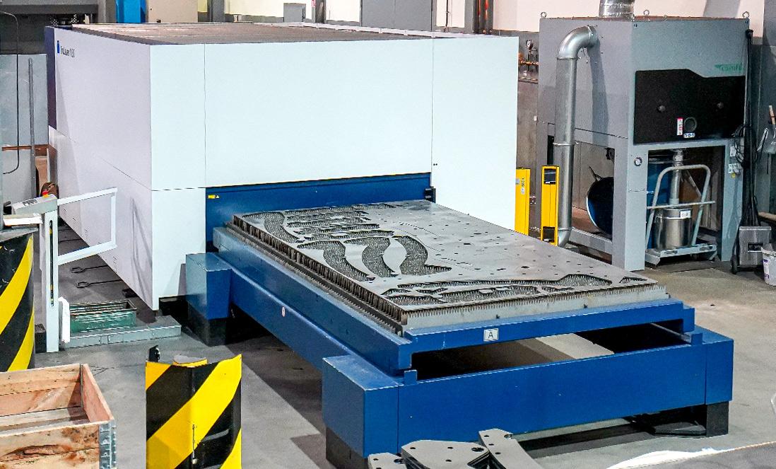 Maschinenpark Steinbrenner Laserschneiden